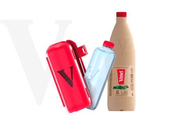 Vittel allège ses bouteilles avec deux nouveaux concepts