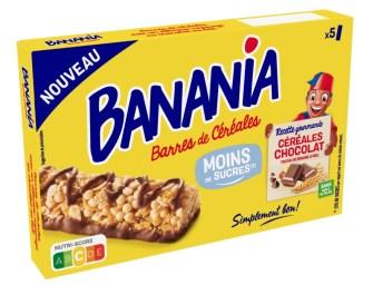 Le rayon des barres de céréales accueil un nouvel entrant : Banania