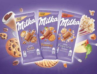 Milka lance 3 tablettes co-crées avec ses consommateurs