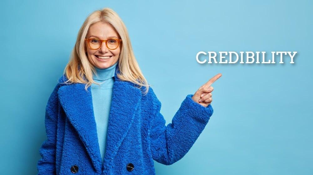 build website credibility