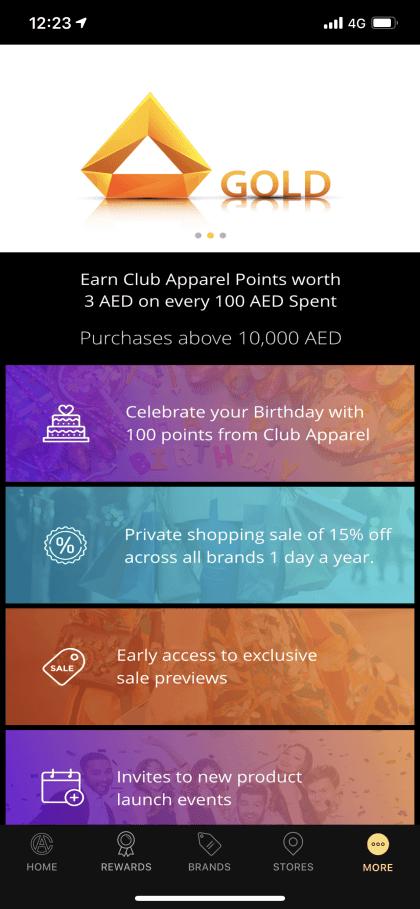 10 - Club Apparel. Leading loyalty program in Arabia