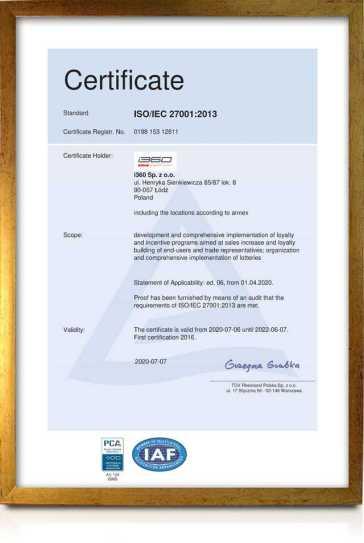 Bezpieczeństwo informacji w i360. Audyt ISO 27001:2013 - Tomasz Makaruk