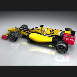 HP corre en la Fórmula 1
