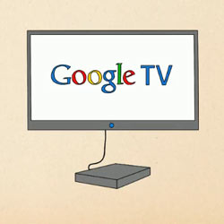 Google TV realiza su puesta de largo