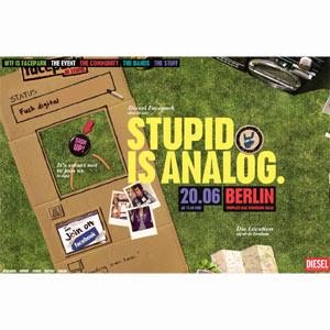 """Diesel organiza en Berlín un """"encuentro analógico"""" con sus fans de Facebook"""