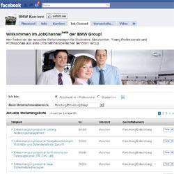 BMW recluta personal a través de Facebook y Twitter