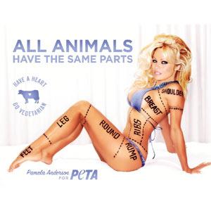 Pamela Anderson escandaliza a los canadienses con un anuncio para PETA