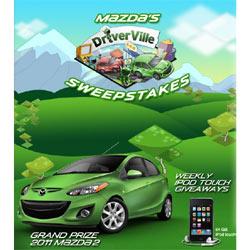 Mazda presenta en sociedad su nuevo modelo M2 con un juego para Facebook