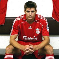 Steven Gerrard, imagen de Adidas en su última campaña cara a los JJ.OO. de Londres