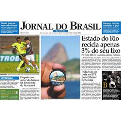 """Desaparece la versión impresa del """"Jornal do Brasil"""""""