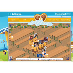"Lufthansa celebra la ""Oktoberfest"" con un juego social"