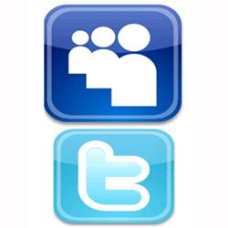 Twitter genera más tráfico que MySpace