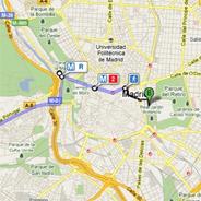 Google Transit llega a Madrid