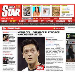 """El diario inglés """"Daily Star"""" falsificó entrevistas con varios futbolistas de la liga española"""