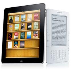 Los usuarios del iPad son más jóvenes y menos ricos que los del Kindle