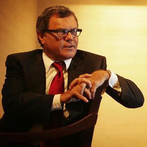 """""""Nuestro crecimiento orgánico en el tercer trimestre será el más fuerte en 10 años"""", M. Sorrell"""