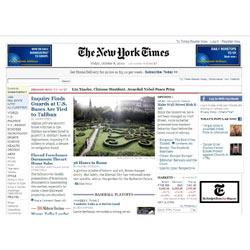 """La versión online de """"The New York Times"""" será de pago a partir de 2011"""