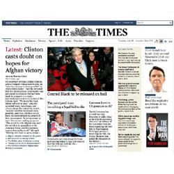 """El tráfico web de """"The Times"""" se hunde un 88%"""