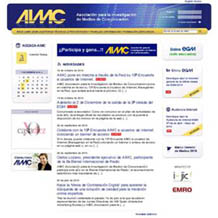AIMC rediseña su web