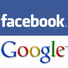 Facebook y Google se disputan el predominio online mediante los contactos