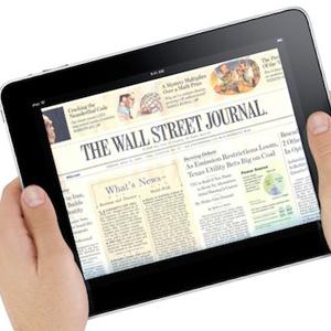 El iPad puede no ser el salvador de los periódicos