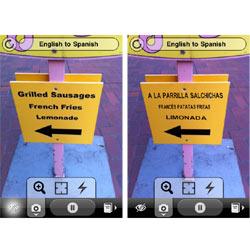 """Word Lens, la aplicación """"mágica"""" que traduce textos dentro de imágenes al instante"""