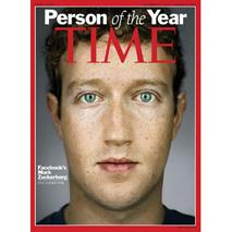 Mark Zuckerberg nombrado la Persona del Año por la revista Time
