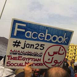 """Llaman """"Facebook"""" a una recién nacida después de la revolución de Egipto"""