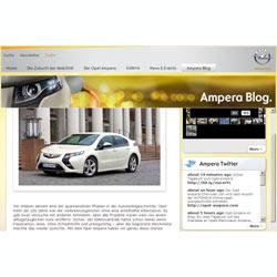 El nuevo Opel Ampera viene con un blog debajo del brazo