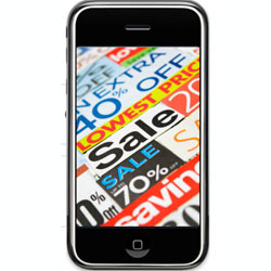 Los cupones móviles ganan en difusión, pero pierden en valor