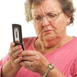 Los usuarios de telefonía móvil de más de 55 años no quieren complicarse la vida