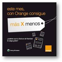 """Comunica+A diseña para el punto de venta la campaña """"con Orange, más x menos"""""""