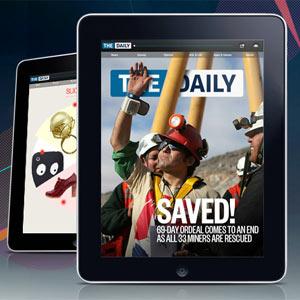 """""""The Daily"""": ¿un folletín hecho a la medida del iPad?"""
