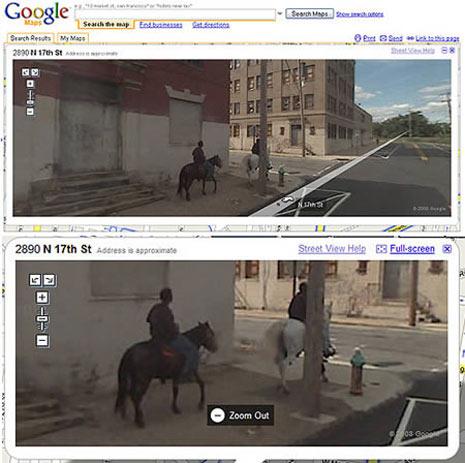 Lo que Google Street View esconde