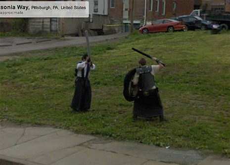 Lo que Google Street View esconde