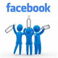"""El alcohol es un """"imán"""" para los amigos en Facebook"""