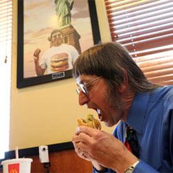 Un fanático de McDonald's se come 25.000 Big Macs