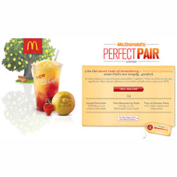 """McDonald's busca """"parejas perfectas"""" en Twitter para la promoción de un nuevo refresco"""