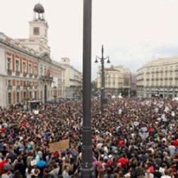 """""""Democracia Real YA"""", el evento de la semana más comentado por medios internacionales"""