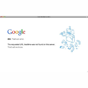Las búsquedas en tiempo real dejan de ser operativas en Google