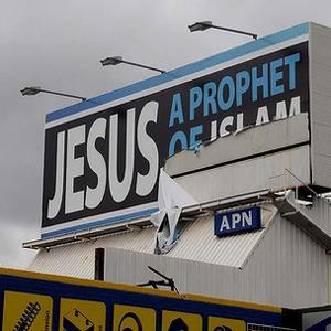 Un cartel publicitario que relaciona a Jesús con el Islam provoca la ira de los cristianos en Australia