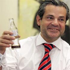 Recetas del presidente de Coca-Cola Iberia en Twitter