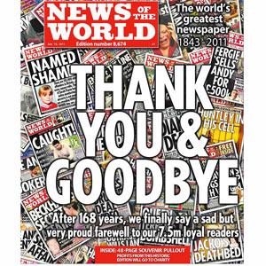 """El mundo tras el cierre de """"News of the World"""""""