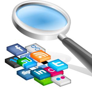 social media búsquedas