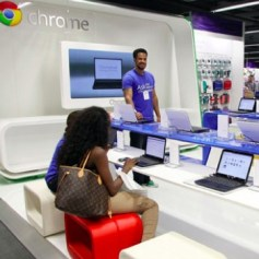 Google abre Chromezone, su primera tienda física en Londres