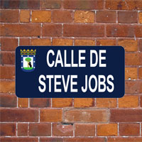 """¿Dónde vives? En la calle """"Steve Jobs"""" de Madrid"""
