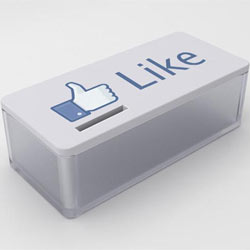 """Hacer clic en el botón """"me gusta"""" de una empresa en Facebook se nota en el precio de sus acciones"""