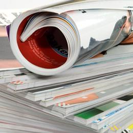 Una revista es como un iPad, pero que no funciona