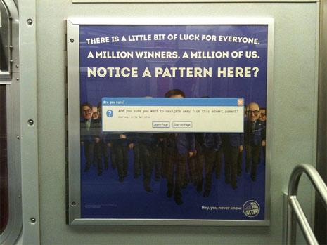 En Nueva York saltan mensajes de error cuando la publicidad exterior es mala