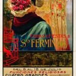 """San Fermín: más de 100 años dando el """"chupinazo"""" en sus carteles publicitarios"""